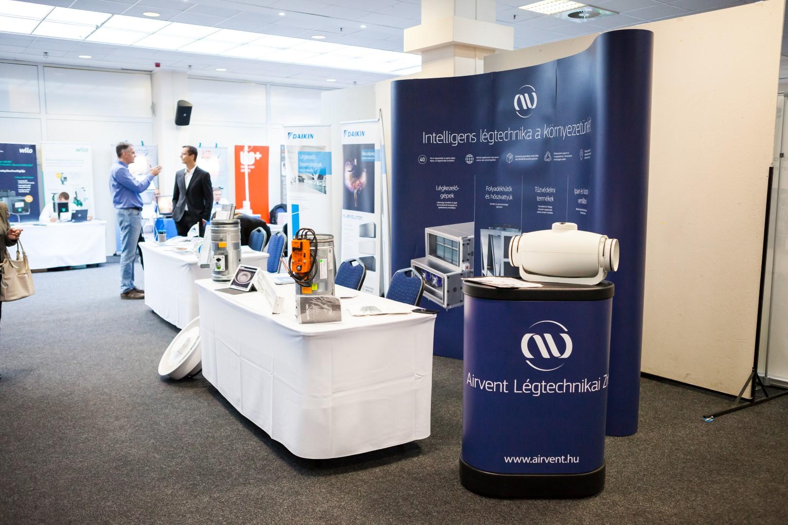 Az Airvent részt vett az Épületgépész Tervezői Konferencián